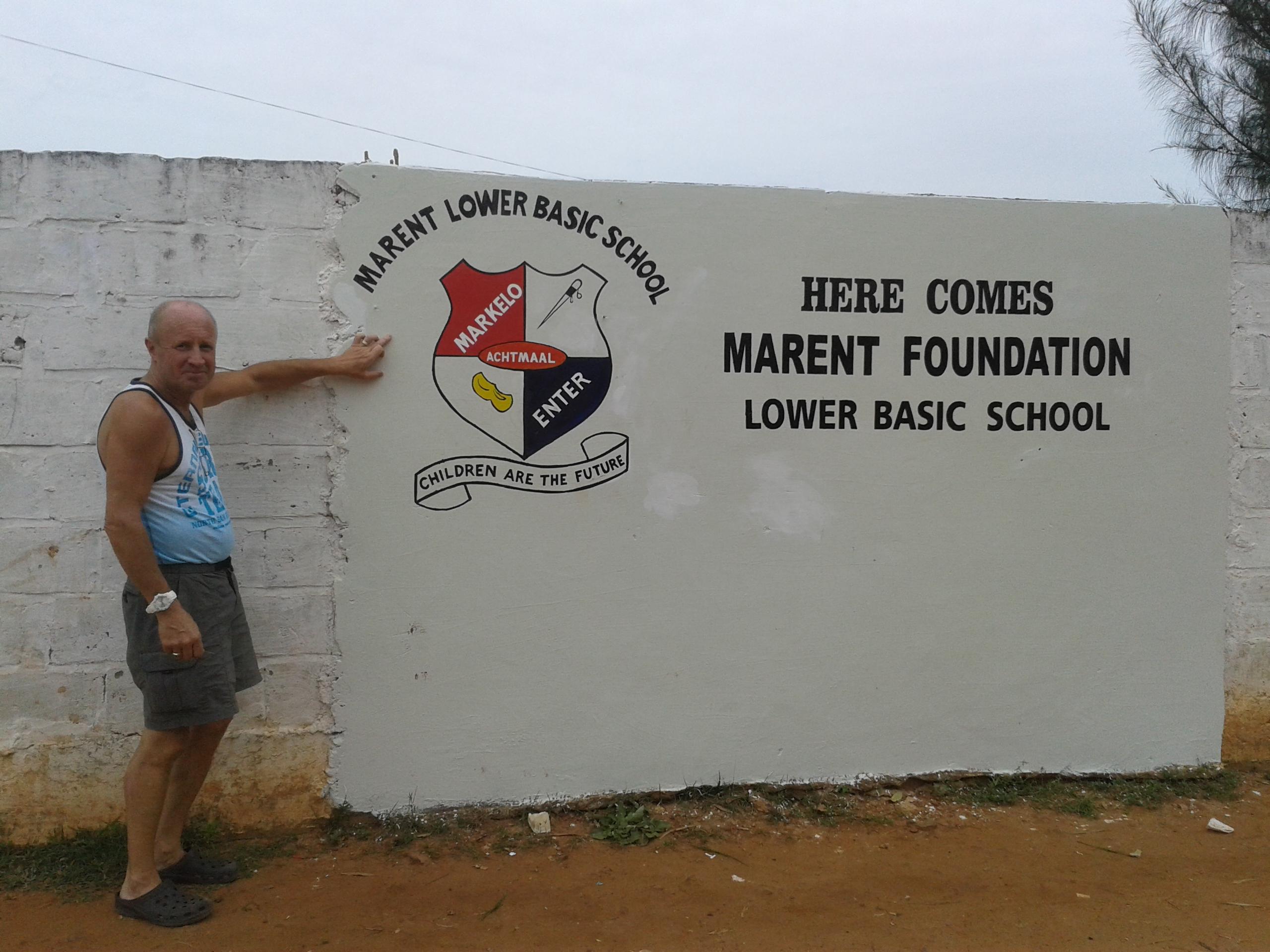 De bouw van onze lagere school is begonnen