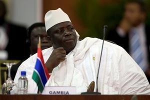 Gambiaanse president treedt niet af